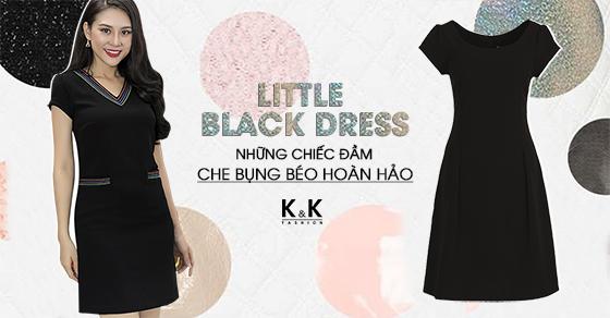 Little black dress – Những chiếc đầm che bụng béo hoàn hảo