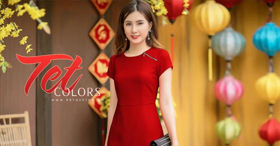 """Thời trang công sở K&K Fashion ra mắt BST mới """"Tết Colors"""""""