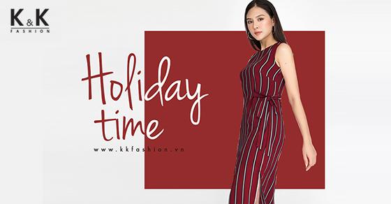 Thời trang công sở K&K Fashion ra mắt BST Holiday Time