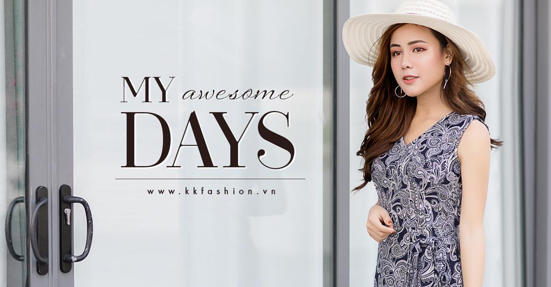 """Thời trang công sở K&K Fashion ra mắt BST """"My Awesome Days"""""""