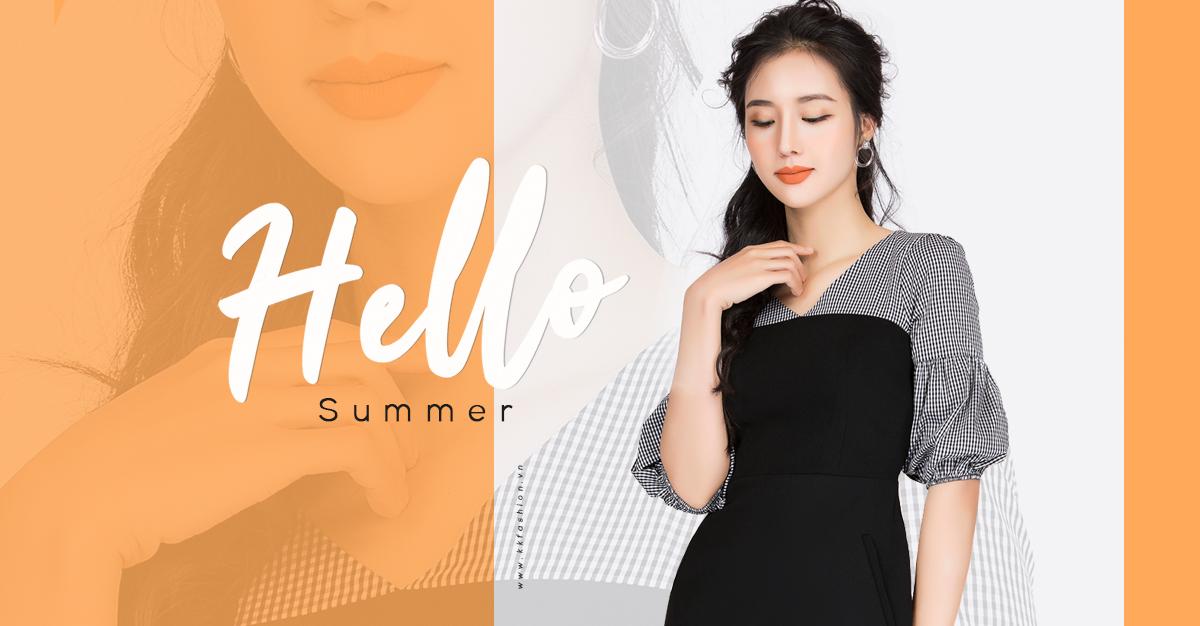Hello Summer   Thời trang công sở K&K Fashion