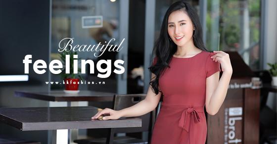 Thời trang công sở K&K Fashion ra mắt BST Beautiful Feelings
