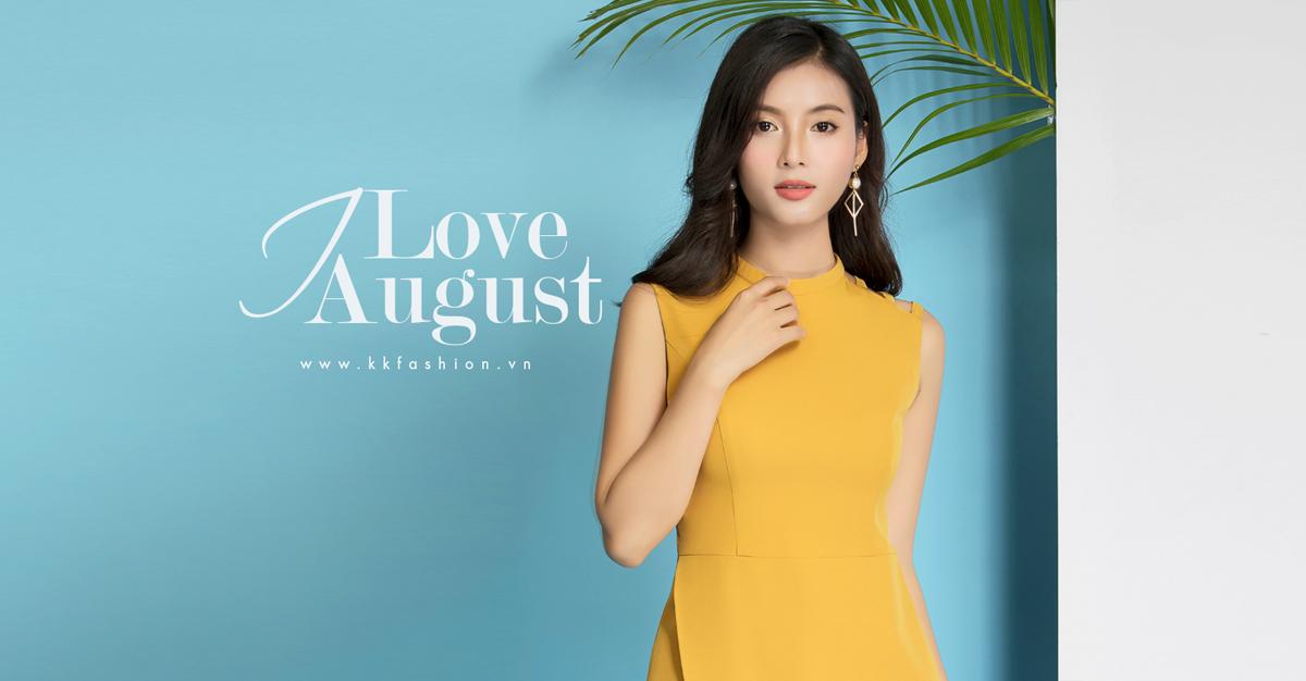 Thời trang công sở K&K Fashion ra mắt BST I love August 2018