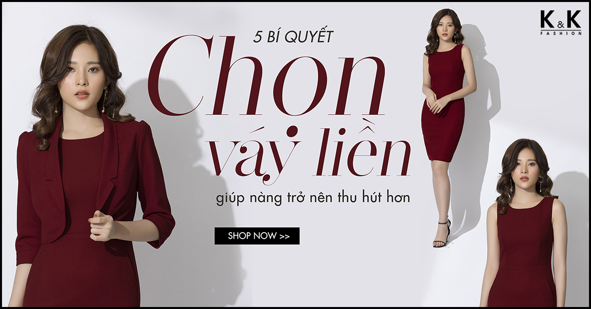 5 bí quyết chọn váy liền giúp nàng trở nên thu hút hơn