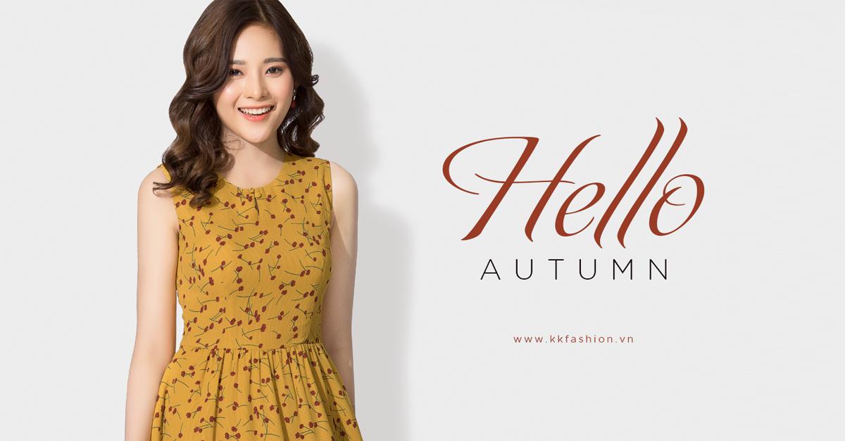 """Thời trang công sở K&K Fashion ra mắt BST """"Hello Autumn"""""""