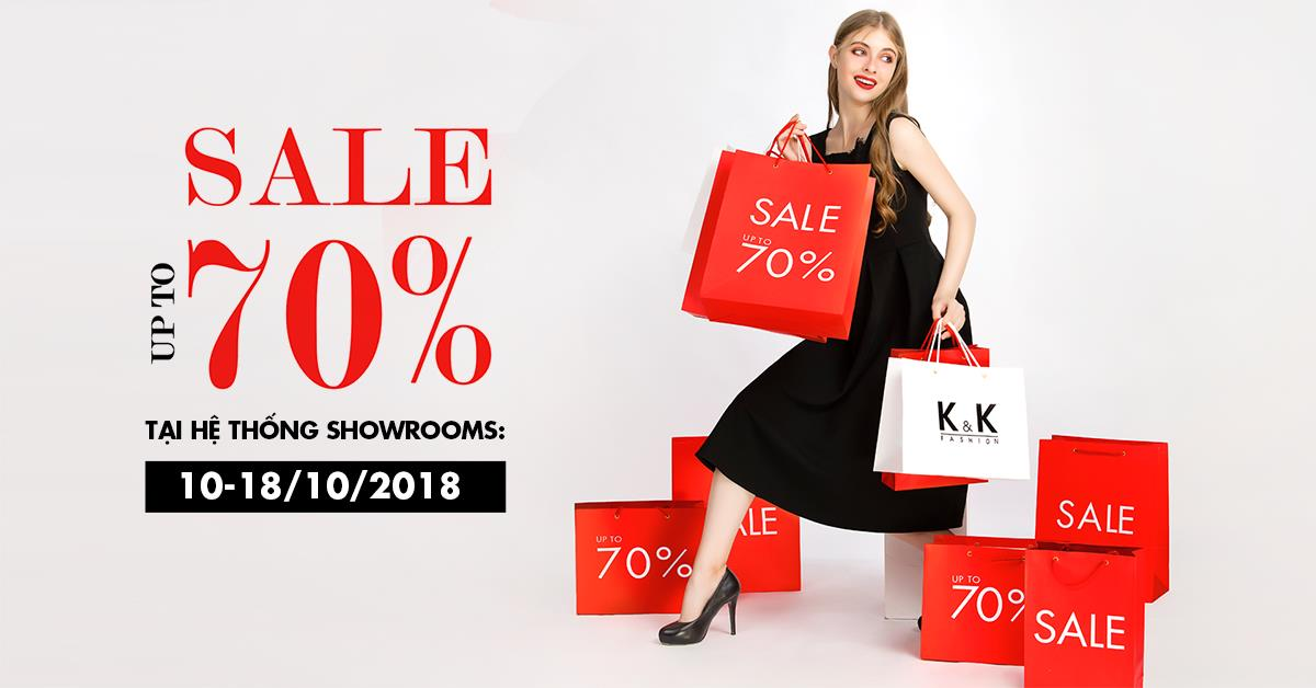 K&K Fashion Big Sale Off nhân dịp 20-10