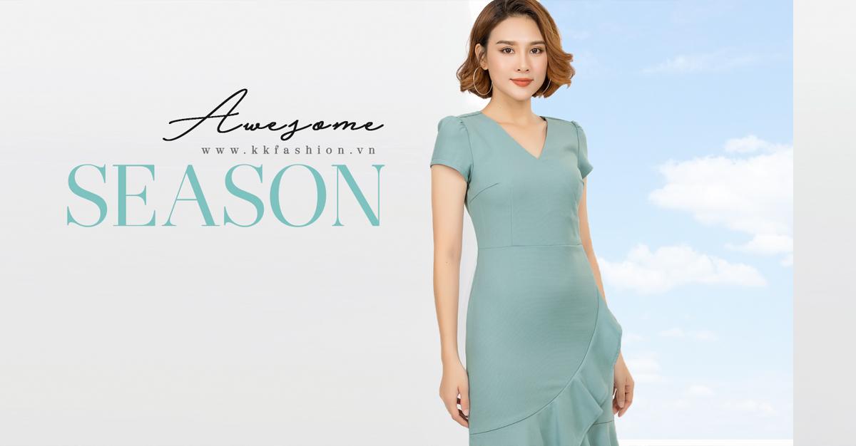 Thời trang công sở K&K Fashion ra mắt BST Awesome Season 2018