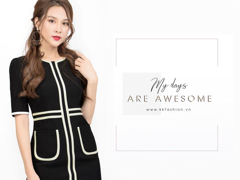 Thời trang công sở K&K Fashion ra mắt BST My days are awesome