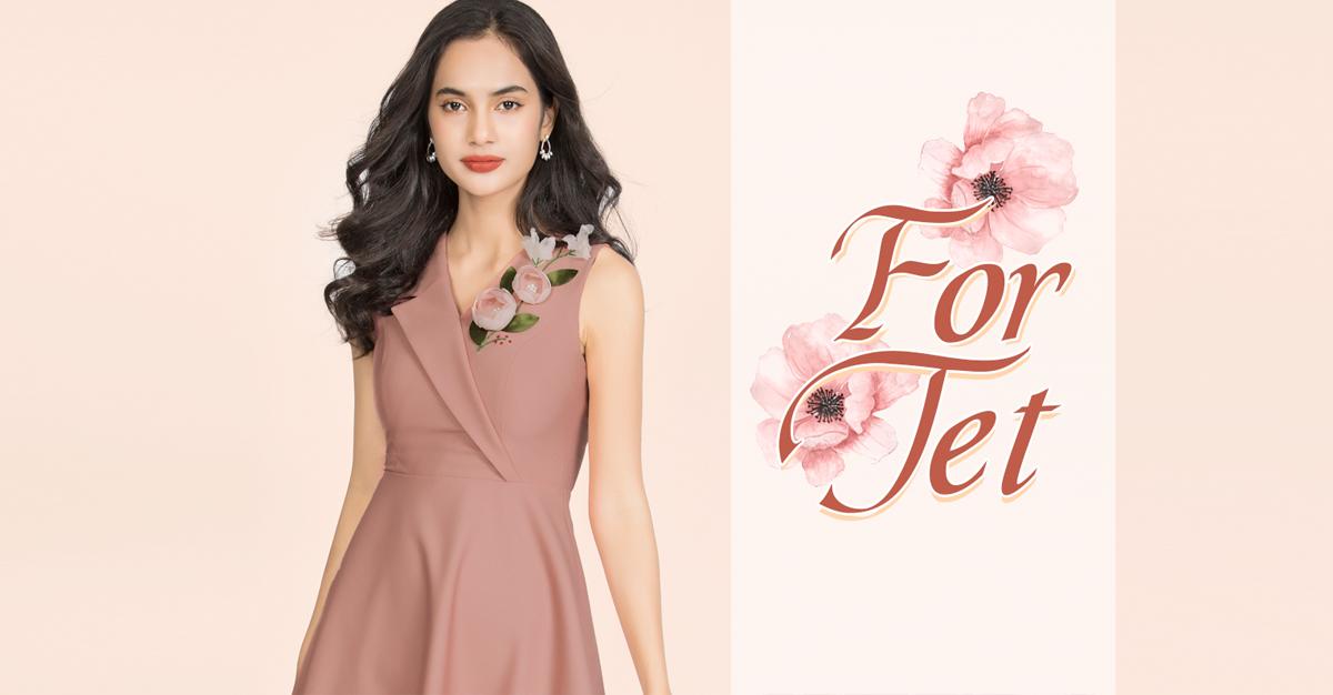 For Tet   Thời trang công sở 2019