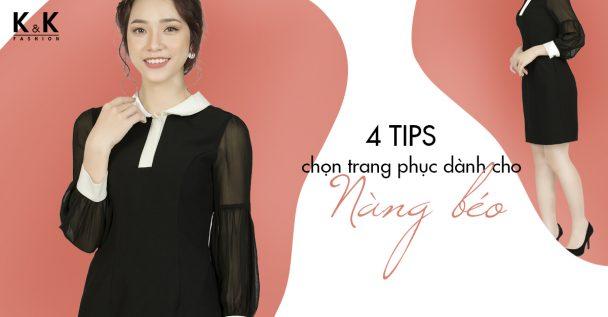 4 tips chọn trang phục dành cho nàng béo