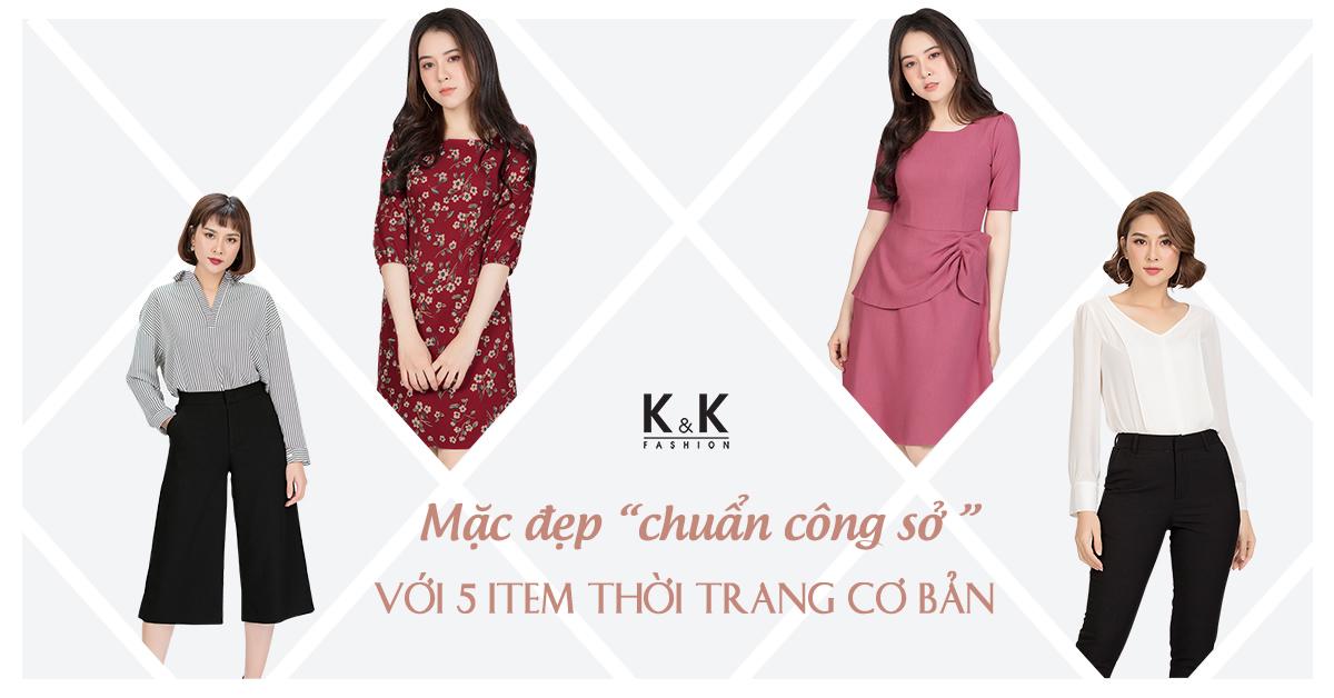 """Mặc đẹp """"chuẩn công sở"""" với 5 item thời trang cơ bản"""