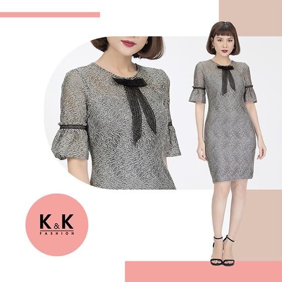 Váy liền ren ôm KK85-12