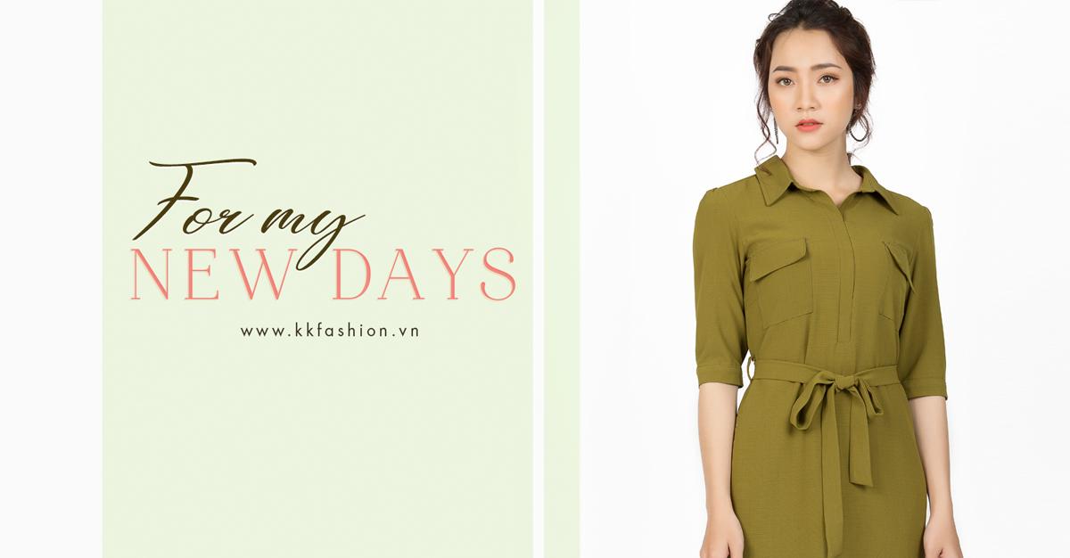 Thời trang công sở K&K Fashion ra mắt BST For My New Days 2019