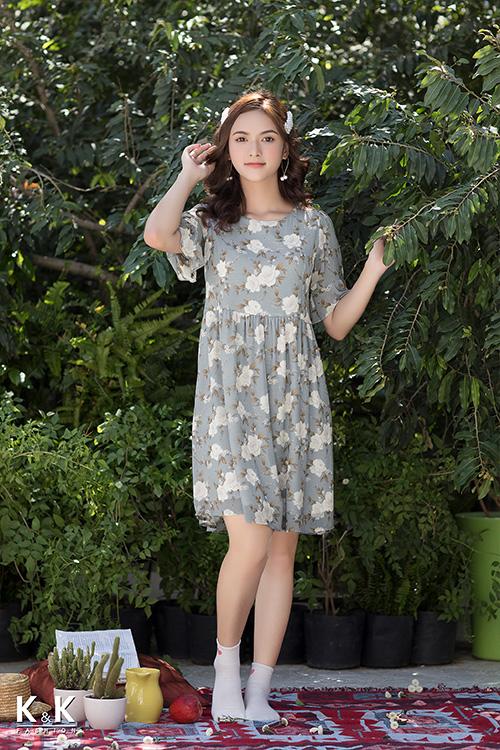 """Đầm babydoll – item giải cứu cô nàng """"hạt tiêu"""" mùa hè"""