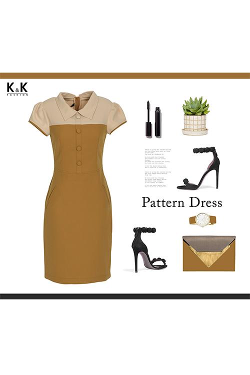 Đầm công sở KK81-30