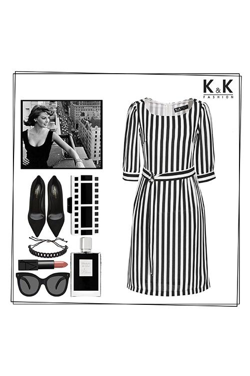Đầm công sở KK83-23